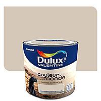 Peinture multi-supports Dulux Valentine Couleurs du monde terres d'Afrique clair satin 0,5L