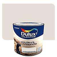 Peinture multi-supports Dulux Valentine Couleurs du monde terres d'Afrique pastel satin 0,5L
