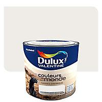 Peinture multi-supports DULUX VALENTINE Couleurs du monde terres d'afrique pâle satin 0,5L