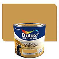 Peinture multi-supports Dulux Valentine Couleurs du monde dunes du Sahara intense satin 0,5L
