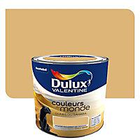 Peinture multi-supports Dulux Valentine Couleurs du monde dunes du Sahara moyen satin 0,5L