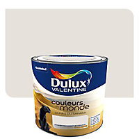 Peinture multi-supports DULUX VALENTINE Couleurs du monde dunes du sahara pâle satin 0,5L
