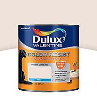 La Peinture murs et boiseries Dulux Valentine Color resist plâtre rose aspect mat de 1L