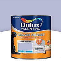 Peinture murs et boiseries Dulux Valentine Color resist violet minéral mat 1L
