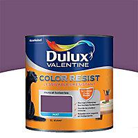 Peinture murs et boiseries Dulux Valentine Color resist améthyste mat 1L