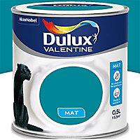 Peinture murs et boiseries Dulux Valentine Crème de couleur acapulco mat 0,5L