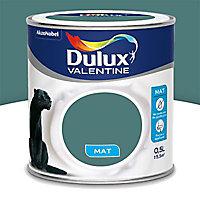 Peinture murs et boiseries Dulux Valentine Crème de couleur eucalyptus mat 0,5L