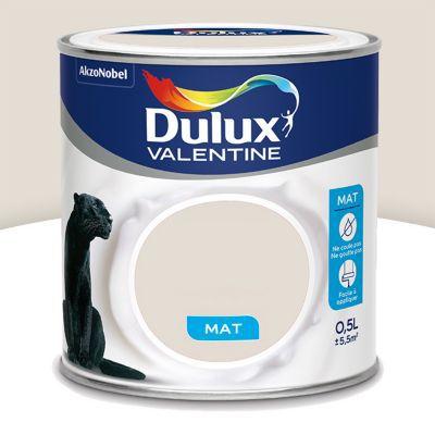 Peinture Murs Et Boiseries Dulux Valentine Crème De Couleur Lin Clair Mat 0 5l Castorama