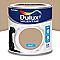 Peinture murs et boiseries Dulux Valentine Crème de couleur moka latte mat 0,5L