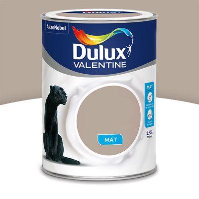 Peinture murs et boiseries DULUX VALENTINE Crème de couleur gazelle mat 1,25L | Castorama