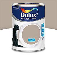 Peinture murs et boiseries Dulux Valentine Crème de couleur gazelle mat 1,25L