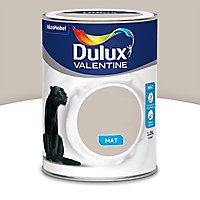Peinture murs et boiseries Dulux Valentine Crème de couleur grain de sable mat 1,25L
