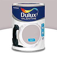 Peinture murs et boiseries Dulux Valentine Crème de couleur voile poudré mat 1,25L