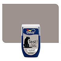 Testeur peinture murs et boiseries Dulux Valentine taupe collector 30ml