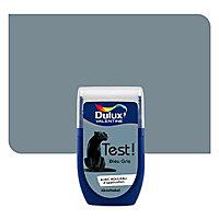 Testeur peinture murs et boiseries Dulux Valentine bleu gris 30ml