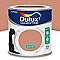 Peinture murs et boiseries DULUX VALENTINE Crème de couleur cuivre rose satin 0,5L