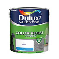 Peinture monocouche cuisine murs et boiseries Dulux Valentine Color Resist blanc mat 2,5L