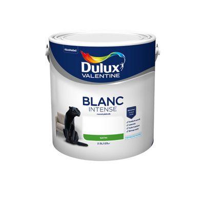 Peinture dulux valentine murs et plafonds blanc satin 2 5l for Peinture piscine castorama
