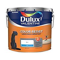 Peinture Dulux Valentine murs/plaf/bois blanc mat 10L