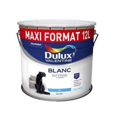 Peinture Dulux Valentine Murs Et Plafonds Blanc Mat 12l Castorama