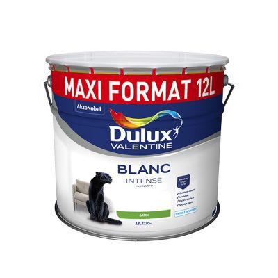 Peinture Dulux Valentine Murs Et Plafonds Blanc Sat 12l Castorama