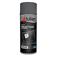 Peinture aerosol magnéique Julien gris mat