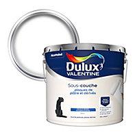 Sous-couche plaques de plâtre et dérivés Dulux Valentine blanc 10L