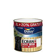 Peinture bois Dulux Valentine Ecran+ blanc satin 2L +20 %