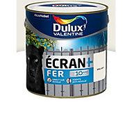 Peinture fer antirouille Dulux Valentine Ecran+ blanc brillant 2L