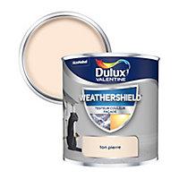 Testeur peinture façade lisse Dulux Valentine ton pierre 250ml