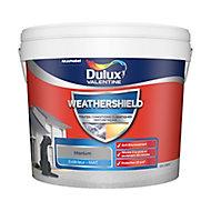 Peinture façade toutes conditions climatiques Dulux Valentine gris titanium 10L
