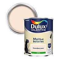 Peinture murs et boiseries Dulux Valentine première lueur satin 0,75L