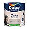 Peinture murs et boiseries Dulux Valentine chocolat au lait satin 2,5L