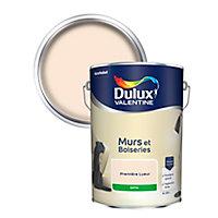 Peinture murs et boiseries Dulux Valentine première lueur satin 5L