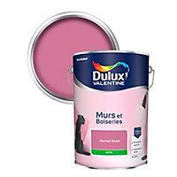 Peinture murs et boiseries Dulux Valentine sorbet rose satin 5L