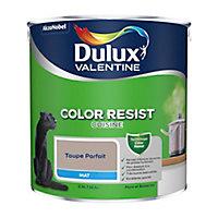 Peinture cuisine Dulux Valentine taupe parfait mat 2,5L