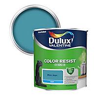 Peinture cuisine Dulux Valentine bleu jean mat 2,5L