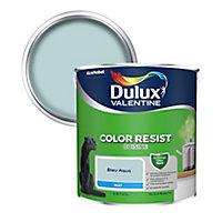 Peinture cuisine Dulux Valentine bleu aqua mat 2,5L