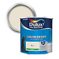 Peinture salle de bain Dulux Valentine écru satin 2,5L