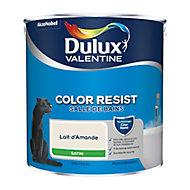 Peinture salle de bain Dulux Valentine lait d'amande satin 2,5L