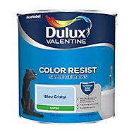Peinture salle de bain Dulux Valentine bleu cristal satin 2,5L