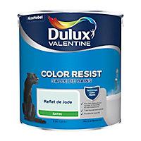 Peinture salle de bain Dulux Valentine reflet jade satin 2,5L