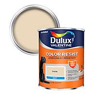 Peinture murs et boiseries Dulux Valentine Color Resist ivoire mat 0,75L