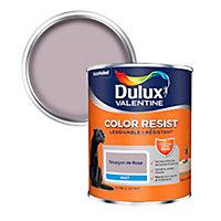 Peinture murs et boiseries Dulux Valentine Color Resist soupçon de rose mat 0,75L