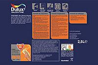 Peinture murs et boiseries Dulux Valentine Color Resist mousse café mat 2,5L