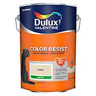 Peinture murs et boiseries Dulux Valentine Color Resist ivoire satin 5L