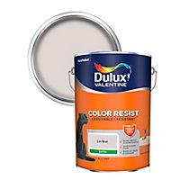 Peinture murs et boiseries Dulux Valentine Color Resist lin brut satin 5L