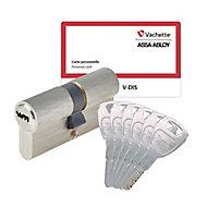 Cylindre de sécurité V-DIS Vachette 4 clés + 2 offertes