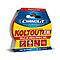 Ruban adhésif double face Cyanolit Koltout Express 48 mm x 18 mm - 10 pièces
