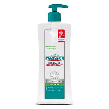 Gel mains désinfectant thé vert Sanytol 0,5L